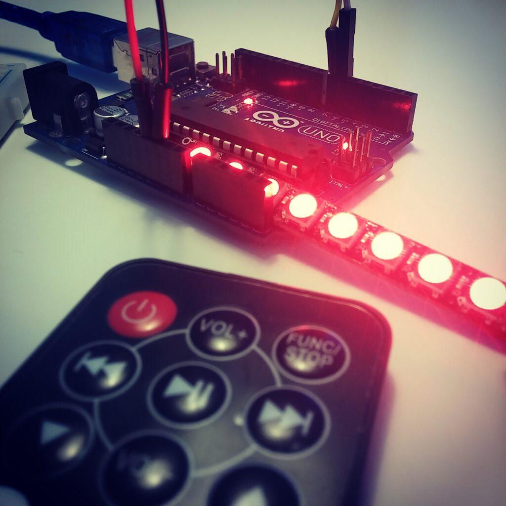 Sterowanie RGB WS2812b